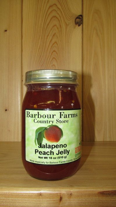Jalapeno Peach Jelly – Barbour Farms