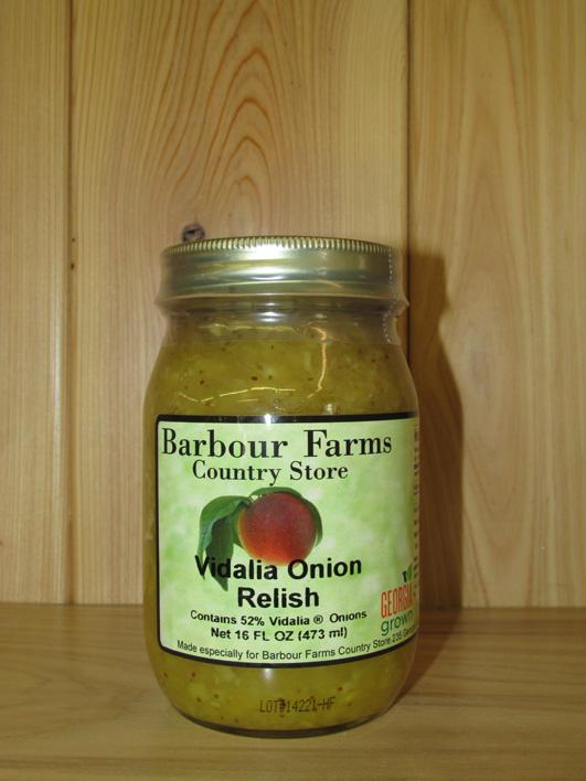 Vidalia Onion Relish – Barbour Farms